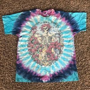 f6d8d271d Vintage Shirts | 1995 Grateful Dead Tshirt Liquid Blue Tag | Poshmark